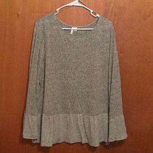 Tunic lightweight sweater